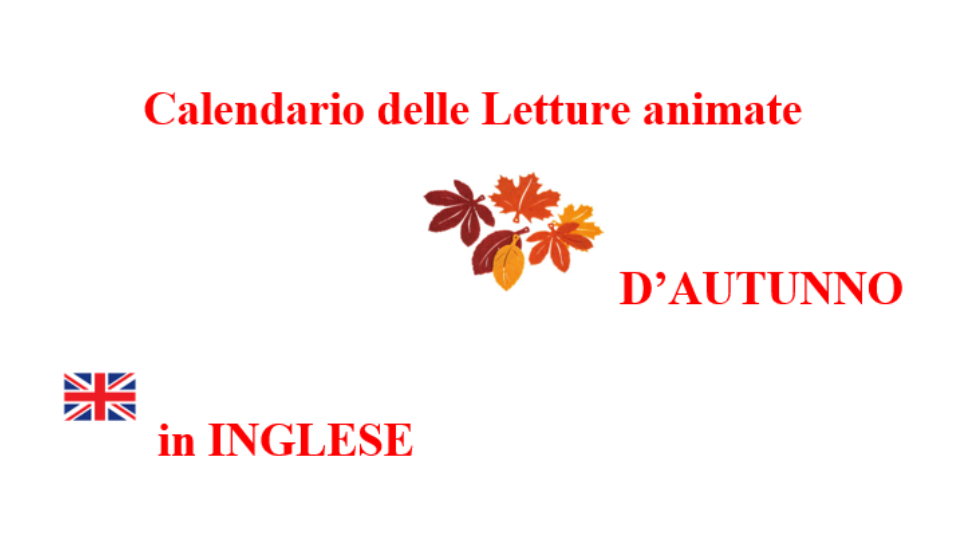 Letture animate in lingua inglese